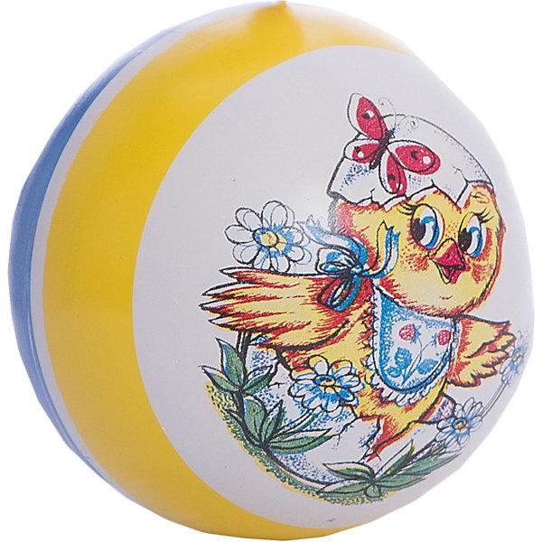 Мяч  с рисунком, 10 смМячи детские<br>Характеристики:<br><br>• тип игрушки: мяч;<br>• возраст: от 3 лет;<br>• материал: резина;<br>• цвет: мультиколор;<br>• диаметр: 10 см;<br>• страна бренда: Россия;<br>• бренд: Чебоксарский завод;<br><br>Мяч  с рисунком, 10 см очень высоко отскакивает от пола, что очень важно во многих подвижных играх. Мяч прекрасно подходит для детей в возрасте от 3 лет. Игры с мячом прекрасно развивают координацию движений и способствуют общему физическому развитию ребенка. Легкий и прочный мячик подходит для игр как в помещении, так и на улице.<br><br>Мяч  с рисунком, 10 см можно купить в нашем интернет-магазине.<br>Ширина мм: 110; Глубина мм: 110; Высота мм: 110; Вес г: 13; Возраст от месяцев: 36; Возраст до месяцев: 2147483647; Пол: Унисекс; Возраст: Детский; SKU: 7684136;