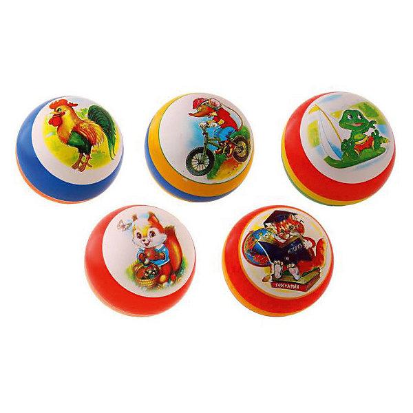 Мяч Мячи-Чебоксары с рисунком, 20 смМячи детские<br>Характеристики:<br><br>• тип игрушки: мяч;<br>• возраст: от 3 лет;<br>• материал: резина;<br>• цвет: мультиколор;<br>• диаметр: 20 см;<br>• страна бренда: Россия;<br>• бренд: Чебоксарский завод;<br><br>Мяч Мячи-Чебоксары с рисунком, 20 см будет лучшим спутником детей и взрослых на спортивной площадке. Изделие выполнено из прочного, упругого ПВХ, который обеспечит целостность игрушки даже при сильном ударе мячика о любую поверхность. Мяч выполнен в ярких тонах, а его полированная поверхность лишь усиливает насыщенность цвета. <br><br>Игрушка легко очищается от пыли и грязи с помощью воды и мыла. Мяч заполнен воздухом, поэтому имеет минимальный вес. Игрушка может быть использована для детских игр, а также на уроках в детском саду и на школе в качестве дополнительной атрибутики. Играя с мячом, ребенок будет развивать моторику, координацию и ловкость.<br><br>Мяч Мячи-Чебоксары с рисунком, 20 см можно купить в нашем интернет-магазине.<br>Ширина мм: 210; Глубина мм: 210; Высота мм: 210; Вес г: 38; Возраст от месяцев: 36; Возраст до месяцев: 2147483647; Пол: Унисекс; Возраст: Детский; SKU: 7684142;