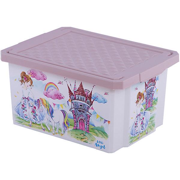 Детский ящик для хранения игрушек X-BOX Сказочная Принцесса, 17лЯщики для игрушек<br>Характеристики:<br>• ящик для хранения игрушек;<br>• ящик с крышкой;<br>• декорирование с помощью технологии In Mould Labeling (IML);<br>• ящик можно мыть;<br>• прочный каркас изделия;<br>• материал: пластик;<br>• размер упаковки: 40,5х30,5х21 см;<br>• объем: 17 л.<br>Пластиковый ящик с крышкой используется для хранения детских вещей и игрушек. Боковые стороны ящика декорированы яркими изображениями. Ящик плотно закрывается крышкой с целью защиты игрушек от пыли.<br>Детский ящик для хранения игрушек «X-BOX» «Сказочная Принцесса», 17л можно купить в нашем интернет-магазине.<br>Ширина мм: 405; Глубина мм: 305; Высота мм: 210; Вес г: 733; Цвет: бежевый; Возраст от месяцев: 24; Возраст до месяцев: 84; Пол: Женский; Возраст: Детский; SKU: 7686440;
