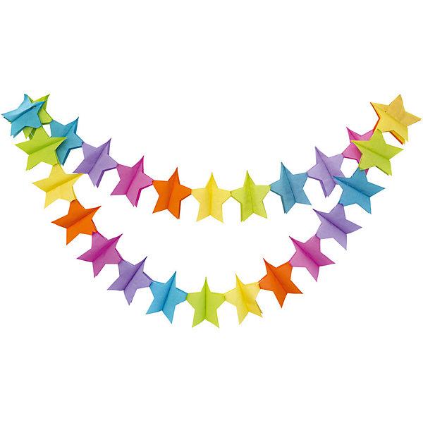 Гирлянда праздничная ACTION! Звездочки, 3,6мБаннеры и гирлянды для детской вечеринки<br>Характеристики товара:<br><br>• возраст: от 3 лет;<br>• упаковка: пакет с подвесом;<br>• материал: бумага;<br>• размер: 360x18x18 см;<br>• бренд: Action<br><br>Гирлянда декоративная к празднику Звездочки станет прекрасным украшением любого торжества, посвященного празднованию дня рождения. Гирлянда удивит каждого юного именинника.<br><br>Такое украшение отлично вписывается в домашний интерьер, принося атмосферу праздника. Благодаря разноцветным звездочкам настроение любого праздника станет намного красочнее и веселее.<br><br>В центре гирлянды протянута нить, с помощью которой украшение можно растягивать и вешать, а потом снова складывать в изначальное положение.<br><br>Гирлянду «Звездочки» «Action!» можно купить в нашем интернет-магазине.<br>Ширина мм: 100; Глубина мм: 20; Высота мм: 100; Вес г: 100; Возраст от месяцев: 36; Возраст до месяцев: 2147483647; Пол: Унисекс; Возраст: Детский; SKU: 7686913;
