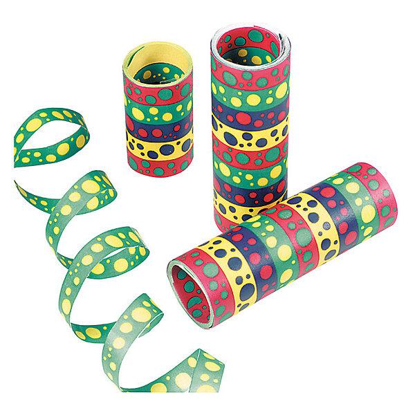 Набор серпантина  к празднику ACTION! Кружочки, 3штАксессуары для детского праздника<br>Характеристики товара:<br><br>• возраст: от 3 лет;<br>• упаковка: пакет с подвесом;<br>• материал: бумага;<br>• размер: 0,7х300 см;<br>• в упаковке 3 шт;<br>• бренд: Action<br><br>Набор серпантина к празднику «Кружочки» от бренда «Action!» станет прекрасным дополнением любого торжества. Эти ленточки с ярким рисунком, которые нужно бросать в воздух, удивят каждого юного гостя.<br><br>Такое украшение отлично вписывается в домашний интерьер, принося атмосферу праздника. Играть с серпантином очень просто: нужно кинуть свернутый рулончик вверх, чтобы он раскрылся в полете.<br><br>Такой серпантин принесет любому празднику красок, отличное настроение и особый колорит.<br><br>Набор серпантина к празднику «Кружочки» «Action!» можно купить в нашем интернет-магазине.<br>Ширина мм: 50; Глубина мм: 20; Высота мм: 50; Вес г: 111; Возраст от месяцев: 36; Возраст до месяцев: 2147483647; Пол: Унисекс; Возраст: Детский; SKU: 7686933;