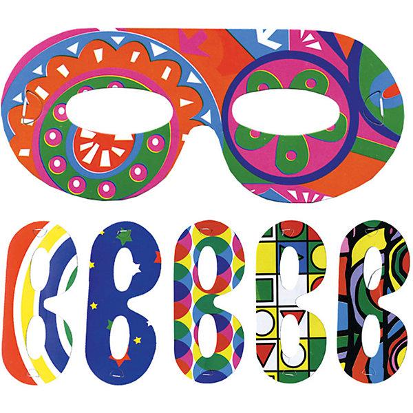 Набор масок ACTION! , 6штДетские карнавальные маски<br>Характеристики товара:<br><br>• возраст: от 3 лет;<br>• упаковка: пакет с подвесом;<br>• материал: бумага;<br>• в упаковке 6 шт;<br>• бренд: Action<br><br>Набор масок к празднику «Ассорти» от бренда «Action!» станет прекрасным дополнением любого торжества. С таким набором все гости девочки смогут почувствовать себя приглашенными на бал-маскарад.<br><br>В наборе 6 картонных масок на резинке, что позволяет подогнать изделие под любой размер. Разноцветные маски понравятся детям и придадут любому празднику особый колорит.<br><br>Изделие выполнено из качественных материалов, не имеет острых углов и абсолютно безопасно для детей.<br><br>Набор масок к празднику «Ассорти» «Action!» можно купить в нашем интернет-магазине.<br>Ширина мм: 100; Глубина мм: 20; Высота мм: 100; Вес г: 20; Возраст от месяцев: 36; Возраст до месяцев: 2147483647; Пол: Унисекс; Возраст: Детский; SKU: 7686969;