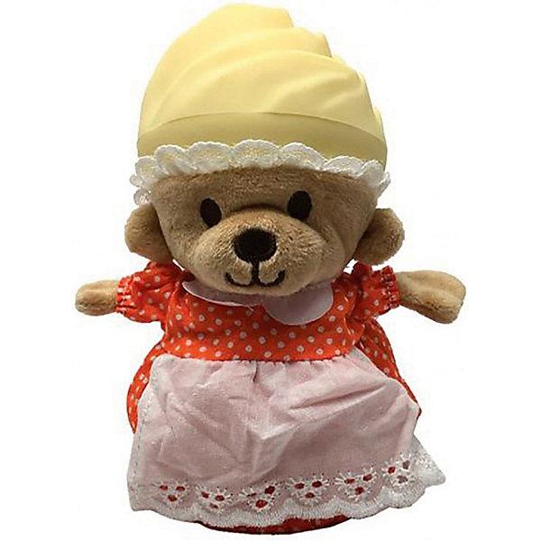 Игрушка Медвежонок в капкейке Cupcake Bears, ТыковкаКоллекционные фигурки<br>Характеристики:<br><br>• возраст: 3+;<br>• высота кекса: 9 см;<br>• высота медвежонка: 15 см;<br>• материал: пластик, текстиль;<br>• габариты упаковки: 9,3х9,3х10 см;<br>• вес в упаковке: 90 г.<br><br>Небольшие кексики так вкусно пахнут и выглядят очень аппетитно. Но если взять их в руки и перевернуть низ кекса, то в один миг лакомство превратится в медвежонка. <br><br>Плюшевый медвежонок одет в милое платье с силиконовой шапочкой на голове. Милые медвежата понравятся малышкам, ведь с ними так здорово играть. <br><br>Можно собрать большую коллекцию из 12 кексов с разноцветными силиконовыми шапочками, которые трансформируются медвежат.<br><br>Игрушку «Медвежонок в капкейке. Тыковка» Cupcake Bears, можно приобрести в нашем интернет-магазине.<br>Ширина мм: 93; Глубина мм: 93; Высота мм: 100; Вес г: 90; Цвет: бежевый/коричневый; Возраст от месяцев: 36; Возраст до месяцев: 168; Пол: Женский; Возраст: Детский; SKU: 7687027;