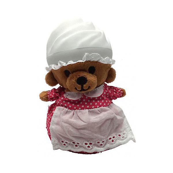 Игрушка Медвежонок в капкейке Cupcake Bears, ПоллиКоллекционные фигурки<br>Характеристики:<br><br>• возраст: 3+;<br>• высота кекса: 9 см;<br>• высота медвежонка: 15 см;<br>• материал: пластик, текстиль;<br>• габариты упаковки: 9,3х9,3х10 см;<br>• вес в упаковке: 90 г.<br><br>Небольшие кексики вкусно пахнут и выглядят очень аппетитно. Но если взять их в руки и перевернуть низ кекса, то в один миг лакомство превратится в медвежонка. <br><br>Плюшевый медвежонок одет в милое платье с силиконовой шапочкой на голове. Нежные медвежата понравятся малышкам, ведь с ними так здорово играть. <br><br>Можно собрать большую коллекцию из 12 кексов с разноцветными силиконовыми шапочками, которые трансформируются медвежат.<br><br>Игрушку «Медвежонок в капкейке. Полли» Cupcake Bears, можно приобрести в нашем интернет-магазине.<br>Ширина мм: 93; Глубина мм: 93; Высота мм: 100; Вес г: 90; Цвет: белый; Возраст от месяцев: 36; Возраст до месяцев: 168; Пол: Женский; Возраст: Детский; SKU: 7687033;