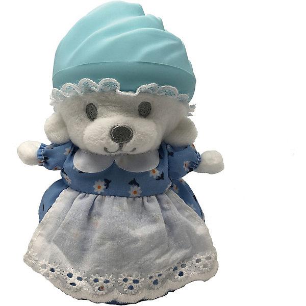 Игрушка Медвежонок в капкейке Cupcake Bears, ХлояКоллекционные фигурки<br>Характеристики:<br><br>• возраст: 3+;<br>• высота кекса: 9 см;<br>• высота медвежонка: 15 см;<br>• материал: пластик, текстиль;<br>• габариты упаковки: 9,3х9,3х10 см;<br>• вес в упаковке: 90 г.<br><br>Небольшие кексики вкусно пахнут и выглядят очень аппетитно. Но если взять их в руки и перевернуть низ кекса, то в один миг лакомство превратится в медвежонка. <br><br>Плюшевый медвежонок одет в милое платье с силиконовой шапочкой на голове. Нежные медвежата понравятся малышкам, ведь с ними так здорово играть. <br><br>Можно собрать большую коллекцию из 12 кексов с разноцветными силиконовыми шапочками, которые трансформируются медвежат.<br><br>Игрушку «Медвежонок в капкейке. Хлоя» Cupcake Bears, можно приобрести в нашем интернет-магазине.<br>Ширина мм: 93; Глубина мм: 93; Высота мм: 100; Вес г: 90; Цвет: голубой; Возраст от месяцев: 36; Возраст до месяцев: 168; Пол: Женский; Возраст: Детский; SKU: 7687043;