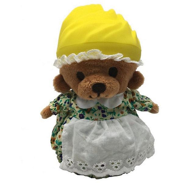 Игрушка Медвежонок в капкейке Cupcake Bears, ЛимонкаКоллекционные фигурки<br>Характеристики:<br><br>• возраст: 3+;<br>• высота кекса: 9 см;<br>• высота медвежонка: 15 см;<br>• материал: пластик, текстиль;<br>• габариты упаковки: 9,3х9,3х10 см;<br>• вес в упаковке: 90 г.<br><br>Небольшие кексики вкусно пахнут и выглядят очень аппетитно. Но если взять их в руки и перевернуть низ кекса, то в один миг лакомство превратится в медвежонка. <br><br>Плюшевый медвежонок одет в милое платье с силиконовой шапочкой на голове. Нежные медвежата понравятся малышкам, ведь с ними так здорово играть. <br><br>Можно собрать большую коллекцию из 12 кексов с разноцветными силиконовыми шапочками, которые трансформируются медвежат.<br><br>Игрушку «Медвежонок в капкейке. Лимонка» Cupcake Bears, можно приобрести в нашем интернет-магазине.<br>Ширина мм: 93; Глубина мм: 93; Высота мм: 100; Вес г: 90; Цвет: светло-желтый; Возраст от месяцев: 36; Возраст до месяцев: 168; Пол: Женский; Возраст: Детский; SKU: 7687045;