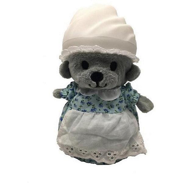 Игрушка Медвежонок в капкейке Cupcake Bears, КноппиКоллекционные фигурки<br>Характеристики:<br><br>• возраст: 3+;<br>• высота кекса: 9 см;<br>• высота медвежонка: 15 см;<br>• материал: пластик, текстиль;<br>• габариты упаковки: 9,3х9,3х10 см;<br>• вес в упаковке: 90 г.<br><br>Небольшие кексики вкусно пахнут и выглядят очень аппетитно. Но если взять их в руки и перевернуть низ кекса, то в один миг лакомство превратится в медвежонка. <br><br>Плюшевый медвежонок одет в милое платье с силиконовой шапочкой на голове. Нежные медвежата понравятся малышкам, ведь с ними так здорово играть. <br><br>Можно собрать большую коллекцию из 12 кексов с разноцветными силиконовыми шапочками, которые трансформируются медвежат.<br><br>Игрушку «Медвежонок в капкейке. Кноппи» Cupcake Bears, можно приобрести в нашем интернет-магазине.<br>Ширина мм: 93; Глубина мм: 93; Высота мм: 100; Вес г: 90; Цвет: бежевый; Возраст от месяцев: 36; Возраст до месяцев: 168; Пол: Женский; Возраст: Детский; SKU: 7687047;
