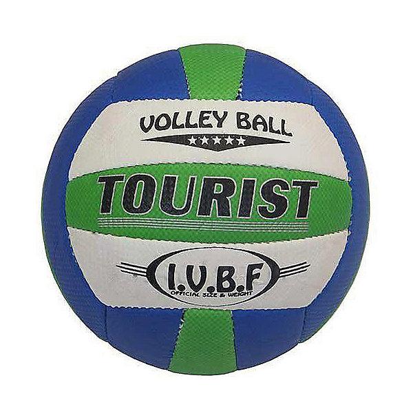 Волейбольный мяч Atlas TouristМячи детские<br>Характеристики:<br><br>• тип игрушки: волейбольный мяч;<br>• возраст: от 3 лет;<br>• цвет: белый, голубой;<br>• диаметр: 65 см;<br>• тип соединения панелей: сшитый;<br>• материал: полиуретан;<br>• размер: 5;<br>• вес: 280 гр;<br>• бренд: Atlas.<br><br>Волейбольный мяч Atlas Tourist отлично подойдет для тренировок и любительских игр. Технические и игровые характеристики, обусловленные применением мягкого, нетравмоопасного материала покрышки, качество изготовления и более чем разумная цена делают Tourist бестселлером среди мячей для волейбола любительского уровня. Яркий дизайн мяча обращает на себя внимание и хорошо заметен во время игры.<br><br>Волейбольный мяч Atlas Tourist можно купить в нашем интернет-магазине.<br>Ширина мм: 210; Глубина мм: 210; Высота мм: 75; Вес г: 280; Возраст от месяцев: 36; Возраст до месяцев: 2147483647; Пол: Унисекс; Возраст: Детский; SKU: 7687364;