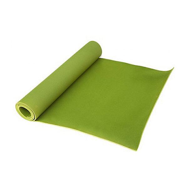 Коврик для йоги и фитнеса Z-Sports  173*61*0,4см , салатовыйСпортивные коврики<br>Характеристики:<br><br>• тип игрушки: коврик для йоги;<br>• возраст: от 3 лет;<br>• размер: 61х10х173 см;<br>• цвет: салатовый;<br>• материал: поливинилхлорид;<br>• вес: 750 гр;<br>• бренд: Z-Sports.<br><br>Коврик для йоги и фитнеса Z-Sports, салатовый - это незаменимый аксессуар для любого спортсмена как во время тренировки, так и во время пре-стретчинга (растяжки до тренировки) и стретчинга (растяжки) после тренировки. Коврик используется в фитнесе, йоге, функциональном тренинге.<br><br>Не скользящая поверхность обеспечивает комфорт при выполнении упражнений. В процессе занятий коврик не растягивается и не теряет формы. Мягкая, бархатистая на ощупь поверхность коврика создает ощущение дополнительного комфорта и предотвращает скольжение рук и ног во время занятий.<br><br>Коврик для йоги и фитнеса Z-Sports, салатовый можно купить в нашем интернет-магазине.<br>Ширина мм: 610; Глубина мм: 100; Высота мм: 100; Вес г: 380; Цвет: светло-зеленый; Возраст от месяцев: 36; Возраст до месяцев: 2147483647; Пол: Унисекс; Возраст: Детский; SKU: 7687382;