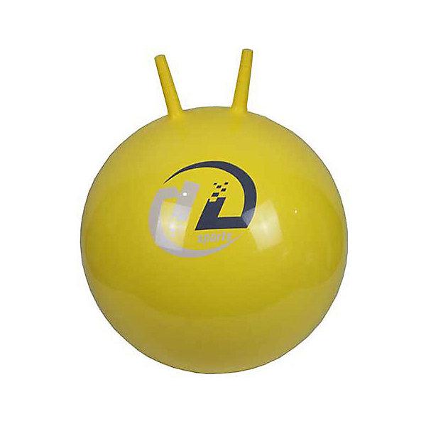 Мяч-попрыгун Z-Sports  с рожками, 45см, желтыйМячи детские<br>Характеристики:<br><br>• тип игрушки: мяч-попрыгун с рожками;<br>• возраст: от 3 лет;<br>• цвет: желтый;<br>• диаметр: 45 см;<br>• комплектация: без насоса;<br>• материал: поливинилхлорид;<br>• максимальный вес пользователя: 100 кг;<br>• вес: 550 гр;<br>• бренд: Z-Sports.<br>   <br>Мяч-попрыгун Z-Sports  с рожками, 45см, желтый - тренажер для развития мышц, координации движений и чувства равновесия. Попрыгун изготовлен из очень прочного и безопасного материала и может надуваться обычным насосом (поставляется в сдутом виде). <br><br>На нем очень удобно сидеть, а еще он великолепно подойдет для активных занятий – прыжков и скачек, зарядки и веселых игр! Попрыгун является не просто прыгающей надувной игрушкой, но и отличным спортивным снарядом для развития мышечного корсета, укрепления спины, мышц таза и ног, улучшения координации и чувство равновесия ребёнка.<br><br>Мяч-попрыгун Z-Sports  с рожками, 45см, желтый можно купить в нашем интернет-магазине.<br>Ширина мм: 190; Глубина мм: 90; Высота мм: 200; Вес г: 550; Возраст от месяцев: 36; Возраст до месяцев: 2147483647; Пол: Унисекс; Возраст: Детский; SKU: 7687388;