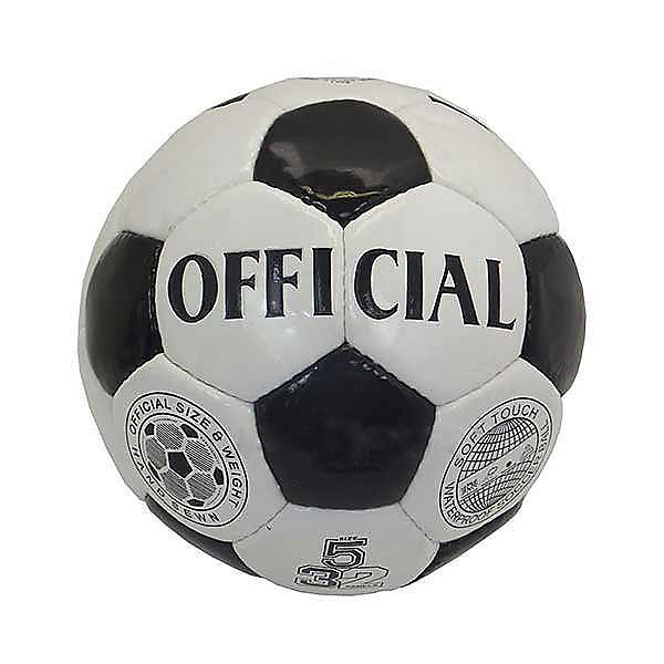 Футбольный мяч Atlas  Official, размер 5Мячи детские<br>Характеристики:<br><br>• тип игрушки: футбольный мяч;<br>• возраст: от 3 лет;<br>• цвет: белый, черный;<br>• количество панелей: 32;<br>•  количество подкладочных слоев: 4;<br>• диаметр: 68 см;<br>• тип соединения панелей: сшитый;<br>• материал: полиуретан;<br>• размер: 5;<br>• вес: 425 гр;<br>• бренд: Atlas.<br><br>Футбольный мяч Atlas  Official, размер 5 предназначен для проведения соревнований и игр команд среднего и любительского уровней, отлично подходит и для интенсивных тренировок. Покрышка выполнена из глянцевой синтетической кожи (полиуретан), ручная сшивка, 32 панели, 4 подкладочных слоя, размер 5 (68см).<br> <br>Подходит для игры на любых поверхностях, но особенно рекомендуется для натуральных и искусственных газонов, полей с синтетическим покрытием различной степени жесткости. Подходит для игры в любых погодных условиях.<br><br>Футбольный мяч Atlas  Official, размер 5 можно купить в нашем интернет-магазине<br>Ширина мм: 229; Глубина мм: 229; Высота мм: 75; Вес г: 425; Возраст от месяцев: 36; Возраст до месяцев: 2147483647; Пол: Мужской; Возраст: Детский; SKU: 7687394;