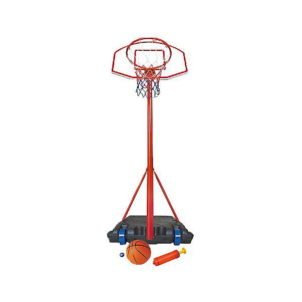 Стойка баскетбольная KingSportИгровые наборы<br>Характеристики:<br><br>• тип игрушки: стойка баскетбольная;<br>• возраст: от 3 лет;<br>• размер щита: 69х36см;<br>• диаметр корзины: 39 см;<br>• регулируемая высота: 113 - 236см;<br>• материал: полипропилен, сталь, поливинилхлорид;<br>• комплектация: мяч, насос;<br>• вес: 8 кг;<br>• размер: 52х11х70см;<br>• бренд: KingSport.<br><br>Стойка баскетбольная KingSport разработана для детей от трех лет и старше и подойдет для установки в любом месте. Используемые материалы проверены на безопасность, а сама конструкция надежна. Особенно такой подарок порадует маленьких спортсменов. Стойка помещена в цветную коробку с ручкой для переноски.<br><br>Стойку баскетбольную  KingSport можно купить в нашем интернет-магазине.<br>Ширина мм: 540; Глубина мм: 170; Высота мм: 720; Вес г: 8150; Возраст от месяцев: 36; Возраст до месяцев: 2147483647; Пол: Унисекс; Возраст: Детский; SKU: 7687400;