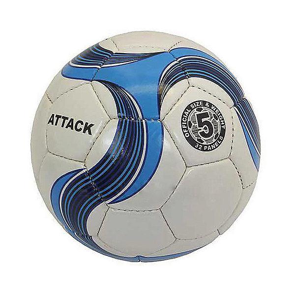 Футбольный мяч Atlas, размер 5Мячи детские<br>Характеристики:<br><br>• тип игрушки: футбольный мяч;<br>• возраст: от 3 лет;<br>• цвет: белый, голубой;<br>• количество панелей: 32;<br>•  количество подкладочных слоев: 4;<br>• диаметр: 68 см;<br>• тип соединения панелей: сшитый;<br>• материал: полиуретан;<br>• размер: 5;<br>• вес: 425 гр;<br>• бренд: Atlas.<br><br>Футбольный мяч Atlas, размер 5 предназначен для проведения соревнований и игр команд среднего и любительского уровней, отлично подходит и для интенсивных тренировок. Покрышка выполнена из глянцевой синтетической кожи (полиуретан), ручная сшивка, 32 панели, 4 подкладочных слоя, размер 5 (68см). Латексная камера с бутиловым нипелем. <br><br>Футбольный мяч Atlas, размер 5 можно купить в нашем интернет-магазине.<br>Ширина мм: 229; Глубина мм: 229; Высота мм: 75; Вес г: 425; Возраст от месяцев: 36; Возраст до месяцев: 2147483647; Пол: Мужской; Возраст: Детский; SKU: 7687404;