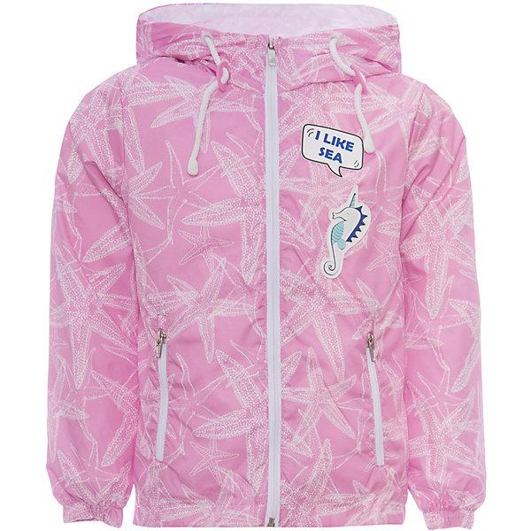 Куртка BOOM by Orby для девочкиВерхняя одежда<br>Характеристики товара:<br><br>• цвет: розовый/принт;<br>• ткань верха: таффета принт pu milky (100% ПЭ);<br>• подкладка: поликоттон, ПЭ пуходержащий (90% хлопок, 10% ПЭ);<br>• сезон: демисезон;<br>• температурный режим: от +10°С;<br>• эластичные манжеты;<br>• два кармана;<br>• дополнительная утяжка по низу изделия; <br>• особенности: на молнии, нашивка на груди, принт;<br>• тип куртки: ветровка;<br>• капюшон: с утяжкой на шнурке, несъемный;<br>• страна бренда: Россия.<br><br>Ветровка BOOM by Orby для девочки -  универсальный вариант и для прохладного летнего вечера, и для теплого межсезонья, дополнена мягкой хлопковой подкладкой.  Непромокаемая ткань прекрасно защитит от теплого летнего ветерка или моросящего дождика. Легкая, яркая ветровка идеально сочетается с вещами в стиле casual: джинсы или брюки чинос, полуботинки и шапки-бини. Стильный дизайн, комфорт и принт  морские звезды  непримерно понравятся вашей моднице. <br><br>Ветровку BOOM by Orby (Бум бай Орби) для девочки можно купить в нашем интернет-магазине.<br>Ширина мм: 356; Глубина мм: 10; Высота мм: 245; Вес г: 519; Цвет: розовый; Возраст от месяцев: 132; Возраст до месяцев: 144; Пол: Женский; Возраст: Детский; Размер: 152,146,140,134,128,122,116,110,104,98,92,86,158; SKU: 7708431;