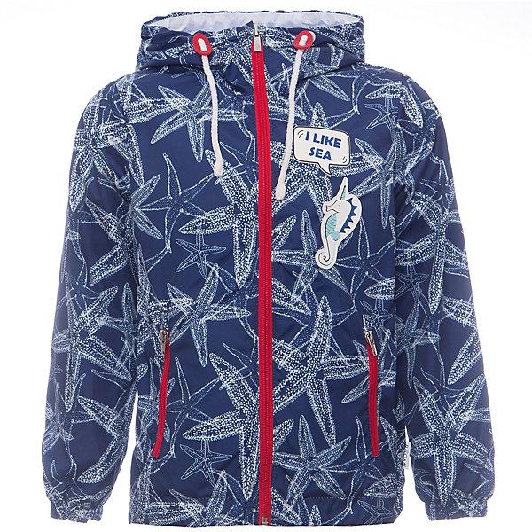 Куртка BOOM by Orby для девочкиВерхняя одежда<br>Характеристики товара:<br><br>• цвет: синий/принт;<br>• ткань верха: таффета принт pu milky (100% ПЭ);<br>• подкладка: поликоттон, ПЭ пуходержащий (90% хлопок, 10% ПЭ);<br>• сезон: демисезон;<br>• температурный режим: от +10°С;<br>• эластичные манжеты;<br>• два кармана;<br>• дополнительная утяжка по низу изделия; <br>• особенности: на молнии, нашивка на груди, принт;<br>• тип куртки: ветровка;<br>• капюшон: с утяжкой на шнурке, несъемный;<br>• страна бренда: Россия.<br><br>Ветровка BOOM by Orby для девочки -  универсальный вариант и для прохладного летнего вечера, и для теплого межсезонья, дополнена мягкой хлопковой подкладкой.  Непромокаемая ткань прекрасно защитит от теплого летнего ветерка или моросящего дождика. Легкая, яркая ветровка идеально сочетается с вещами в стиле casual: джинсы или брюки чинос, полуботинки и шапки-бини. Стильный дизайн, комфорт и принт  морские звезды  непримерно понравятся вашей моднице. <br><br>Ветровку BOOM by Orby (Бум бай Орби) для девочки можно купить в нашем интернет-магазине.<br>Ширина мм: 356; Глубина мм: 10; Высота мм: 245; Вес г: 519; Цвет: синий; Возраст от месяцев: 60; Возраст до месяцев: 72; Пол: Женский; Возраст: Детский; Размер: 116,158,152,146,140,134,128,122,110,104,98,92,86; SKU: 7708459;