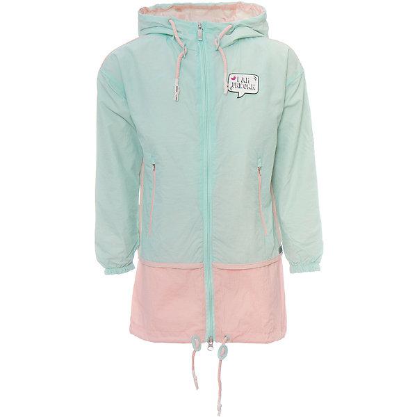Плащ BOOM by Orby для девочкиВерхняя одежда<br>Характеристики товара:<br><br>• цвет: мятный/ персиковый;<br>• ткань верха: нейлон жатка (100% ПЭ);<br>• подкладка: поликоттон, ПЭ пуходержащий (90% хлопок, 10% ПЭ);<br>• сезон: демисезон;<br>• температурный режим: от +10°С;<br>• регулируемая талия на шнурке;<br>• два кармана на молнии;<br>• эластичная утяжка на рукавах;<br>• утяжка по низу изделия на шнурке; <br>• особенности: на молнии, нашивка на груди;<br>• тип: плащ;<br>• капюшон: с утяжкой на шнурке, несъемный;<br>• страна бренда: Россия.<br><br>Плащ BOOM by Orby для девочки -  универсальный вариант и для прохладного летнего вечера, и для теплого межсезонья, дополнен мягкой хлопковой подкладкой.  Непромокаемая ткань прекрасно защитит от теплого летнего ветерка или моросящего дождика. Легкий плащ с оригинальной расцветкой идеально сочетается с вещами в стиле casual и спорт: джинсы или брюки чинос, полуботинки и шапки-бини. Стильный дизайн, комфорт и практичность непримерно порадуют вас и вашего ребенка. <br><br>Плащ BOOM by Orby (Бум бай Орби) для девочки можно купить в нашем интернет-магазине.<br>Ширина мм: 356; Глубина мм: 10; Высота мм: 245; Вес г: 519; Цвет: зеленый; Возраст от месяцев: 84; Возраст до месяцев: 96; Пол: Женский; Возраст: Детский; Размер: 128,122,116,110,104,98,170,164,158,152,146,140,134; SKU: 7708473;