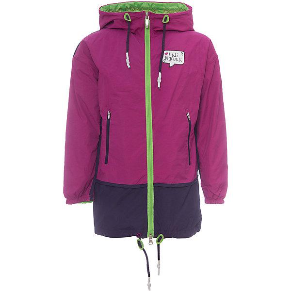 Плащ BOOM by Orby для девочкиВерхняя одежда<br>Характеристики товара:<br><br>• цвет: розовый/ фиолетовый;<br>• ткань верха: нейлон жатка (100% ПЭ);<br>• подкладка: поликоттон, ПЭ пуходержащий (90% хлопок, 10% ПЭ);<br>• сезон: демисезон;<br>• температурный режим: от +10°С;<br>• регулируемая талия на шнурке;<br>• два кармана на молнии;<br>• эластичная утяжка на рукавах;<br>• утяжка по низу изделия на шнурке; <br>• особенности: на молнии, нашивка на груди;<br>• тип: плащ;<br>• капюшон: с утяжкой на шнурке, несъемный;<br>• страна бренда: Россия.<br><br>Плащ BOOM by Orby для девочки -  универсальный вариант и для прохладного летнего вечера, и для теплого межсезонья, дополнен мягкой хлопковой подкладкой.  Непромокаемая ткань прекрасно защитит от теплого летнего ветерка или моросящего дождика. Легкий плащ с оригинальной расцветкой идеально сочетается с вещами в стиле casual и спорт: джинсы или брюки чинос, полуботинки и шапки-бини. Стильный дизайн, комфорт и практичность непримерно порадуют вас и вашего ребенка. <br><br>Плащ BOOM by Orby (Бум бай Орби) для девочки можно купить в нашем интернет-магазине.<br>Ширина мм: 356; Глубина мм: 10; Высота мм: 245; Вес г: 519; Цвет: розовый; Возраст от месяцев: 24; Возраст до месяцев: 36; Пол: Женский; Возраст: Детский; Размер: 98,170,164,158,152,146,140,134,128,122,116,110,104; SKU: 7708487;