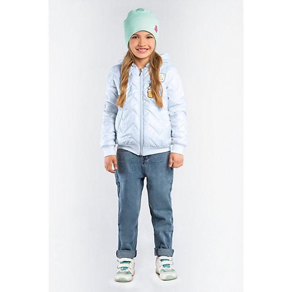Купить Куртка BOOM by Orby для девочки, Россия, голубой, 122, 116, 134, 128, 110, 170, 164, 158, 152, 146, 140, Женский