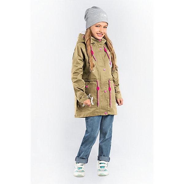 Куртка-парка BOOM by Orby для девочкиВерхняя одежда<br>Характеристики товара:<br><br>• цвет: песочный/розовый;<br>• ткань верха: хлопок 100%;<br>• подстежка: пуходержащий ПЭ (100% ПЭ);<br>• утеплитель: Flexy Fiber 100 г/м2 (100% ПЭ);<br>• сезон: демисезон;<br>• температурный режим: от +5°С;<br>• высокая горловина;<br>• два боковых кармана;<br>• нашивка на груди;<br>• принт на кармане и спинке;<br>• особенности: на молнии и кнопках, регулировка по талии;<br>• тип куртки: парка;<br>• капюшон: с утяжкой на шнурке, несъемный;<br>• страна бренда: Россия.<br><br>Куртка-парка BOOM by Orby для девочки -  универсальный вариант для межсезонья.  Стильная хлопковая куртка-парка для девочки с яркой подстёжкой. Одна модель на любую погоду: с подстёжкой на прохладную и ветреную, без подстёжки - на тёплую весеннюю или летнюю. Модель создана специально так, чтобы подходить к любому стилю: деловому, спортивному, casual. Модный дизайн, оригинальный принт и комфорт непримерно понравятся вашему ребенку. <br><br>Куртку-парку BOOM by Orby для мальчика можно купить в нашем интернет-магазине.<br>Ширина мм: 356; Глубина мм: 10; Высота мм: 245; Вес г: 519; Цвет: бежевый; Возраст от месяцев: 24; Возраст до месяцев: 36; Пол: Женский; Возраст: Детский; Размер: 98,170,164,158,152,146,140,134,128,122,116,110,104; SKU: 7708575;