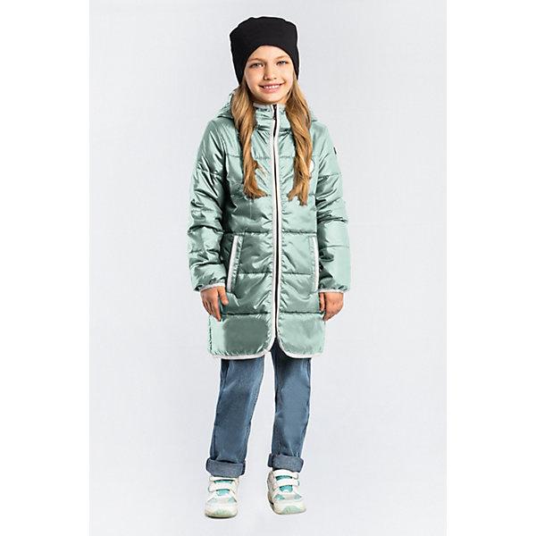 Пальто BOOM by Orby для девочкиВерхняя одежда<br>Характеристики товара:<br><br>• цвет:мятный;<br>• ткань верха: таффета матовая (100% ПЭ);<br>• подкладка: поликоттон; ПЭ пуходержащий (90% хлопок, 10% ПЭ);<br>• утеплитель: Flexy Fiber 150 г/м2;<br>• сезон: демисезон;<br>• температурный режим: от -5 до +10°С;<br>• контрастная отделка края;<br>• два кармана;<br>• высокая горловина; <br>• особенности: нашивка на груди;<br>• тип куртки: пальто, стеганое;<br>• капюшон: с утяжкой на шнурке, несъемный;<br>• страна бренда: Россия.<br><br>Удлиненное пальто BOOM by Orby для девочки выполнено из практичной и износостойкой ткани, с контрастной отделкой края изделия, в актуалных цветах сезона. Гипоаллергенный утеплитель защитит в прохладную погоду. Модель обязательно станет любимицей детей и родителей, ведь в ней сочетаются стиль, доступность и практичность. Подходит к вещам в стиле casual и спорт, как для прогулок, так и для школы/сада.<br><br>Удлиненное пальто BOOM by Orby (Бум бай Орби) для мальчика можно купить в нашем интернет-магазине.<br>Ширина мм: 356; Глубина мм: 10; Высота мм: 245; Вес г: 519; Цвет: зеленый; Возраст от месяцев: 60; Возраст до месяцев: 72; Пол: Женский; Возраст: Детский; Размер: 116,110,104,98,170,164,158,152,146,140,134,128,122; SKU: 7708589;