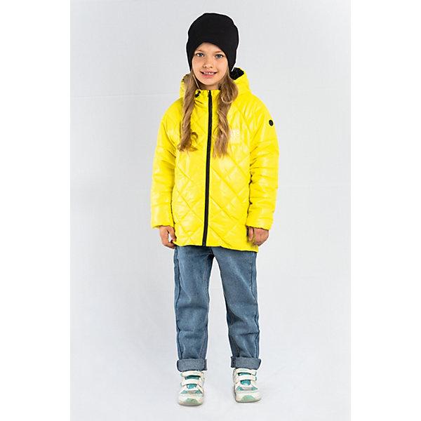 Купить Куртка BOOM by Orby для девочки, Россия, желтый, 134, 158, 152, 146, 140, 128, 122, 116, 110, 104, 98, Женский