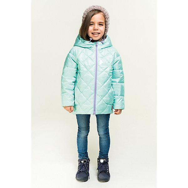 Купить Куртка BOOM by Orby для девочки, Россия, зеленый, 98, 158, 152, 146, 140, 134, 128, 122, 116, 110, 104, Женский
