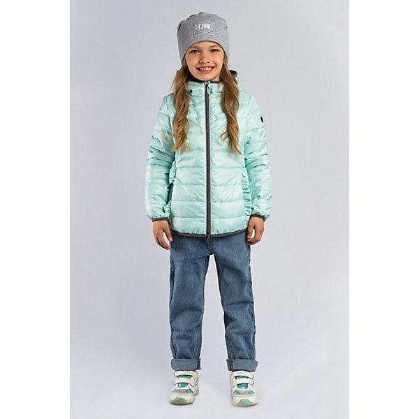 Куртка BOOM by Orby для девочкиВерхняя одежда<br>Характеристики товара:<br><br>• цвет: мятный;<br>• ткань верха: tаффета oil cire pu (100 % ПЭ);<br>• подкладка: поликоттон; ПЭ пуходержащий (90% хлопок, 10% ПЭ);<br>• утеплитель: FiberSoft 150 г/м2;<br>• сезон: демисезон;<br>• температурный режим: от -5 до +10°С;<br>• эластичные манжеты;<br>• два кармана;<br>• контрастная молния; <br>• особенности: рюши по бокам, нашивка на рукаве;<br>• тип куртки: стеганая;<br>• капюшон: несъемный;<br>• страна бренда: Россия.<br><br>Стеганая куртка BOOM by Orby для девочки выполнена из практичной и износостойкой ткани. Лёгкая стёганая куртка в любимых малышками цветах, с оригинальными рюшами по бокам - станет отличным дополнением к многочисленным образам и стилю. Гипоаллергенный утеплитель защитит в прохладную погоду. Подойдет для активных игр и прогулок, а также для повседненой носки в школу/сад. <br><br>Стеганую куртку BOOM by Orby (Бум бай Орби) для девочки можно купить в нашем интернет-магазине.<br>Ширина мм: 356; Глубина мм: 10; Высота мм: 245; Вес г: 519; Цвет: зеленый; Возраст от месяцев: 24; Возраст до месяцев: 36; Пол: Женский; Возраст: Детский; Размер: 98,122,116,110,104,170,164,158,152,146,140,134,128; SKU: 7709094;