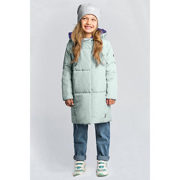 Пальто BOOM by Orby для девочкиВерхняя одежда<br>Характеристики товара:<br><br>• цвет: мятный/сиреневый;<br>• ткань верха: твил (100% ПЭ);<br>• подкладка: поликоттон; ПЭ пуходержащий (90% хлопок, 10% ПЭ);<br>• утеплитель: Flexy Fiber 150 г/м2;<br>• сезон: демисезон;<br>• температурный режим: от -5 до +10°С;<br>• два кармана;<br>• особенности: нашивка на груди;<br>• тип: пальто, стеганое;<br>• капюшон: несъемный;<br>• страна бренда: Россия.<br><br>Удлиненное пальто BOOM by Orby для девочки выполнено в актуалных цветах сезона, и отлично подойдет для повседневной носки в прохладное межсезонье. Гипоаллергенный утеплитель защитит от ветра и холода. Утепленное пальто овального силуэта из практичной износостойкой ткани твил. Особенность модели - объёмный капюшон-воротник. <br><br>Удлиненное пальто BOOM by Orby (Бум бай Орби) для мальчика можно купить в нашем интернет-магазине.<br>Ширина мм: 356; Глубина мм: 10; Высота мм: 245; Вес г: 519; Цвет: зеленый; Возраст от месяцев: 24; Возраст до месяцев: 36; Пол: Женский; Возраст: Детский; Размер: 158,98,104,110,116,122,128,134,140,146,152; SKU: 7709150;