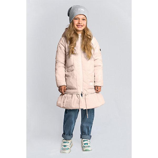 Пальто BOOM by Orby для девочкиВерхняя одежда<br>Характеристики товара:<br><br>• цвет: персиковый;<br>• ткань верха: нейлон, жатка (100% ПЭ);<br>• подкладка: поликоттон; ПЭ пуходержащий (90% хлопок, 10% ПЭ);<br>• утеплитель: Flexy Fiber 150 г/м2;<br>• сезон: демисезон;<br>• температурный режим: от -5 до +10°С;<br>• два кармана;<br>• утяжка по низу на шнурке;<br>• особенности: ассиметричная стежка, нашивка на кукаве;<br>• тип: пальто, стеганое;<br>• капюшон: несъемный, утяжка на шнурке;<br>• страна бренда: Россия.<br><br>Удлиненное пальто BOOM by Orby для девочки выполнено в актуалных цветах сезона, и отлично подойдет для повседневной носки в прохладное межсезонье. Гипоаллергенный утеплитель защитит от ветра и холода. Нежное, женственное и тёплое пальто для девочки обязательно понравится вам и вашей девочке. Модель в оригинальном дизайне, с необычной асимметричной стёжкой, дополнена утяжкой на шнурке. <br><br>Удлиненное пальто BOOM by Orby (Бум бай Орби) для мальчика можно купить в нашем интернет-магазине.<br>Ширина мм: 356; Глубина мм: 10; Высота мм: 245; Вес г: 519; Цвет: бежевый; Возраст от месяцев: 72; Возраст до месяцев: 84; Пол: Женский; Возраст: Детский; Размер: 122,116,110,104,98,158,152,146,140,134,128; SKU: 7709186;