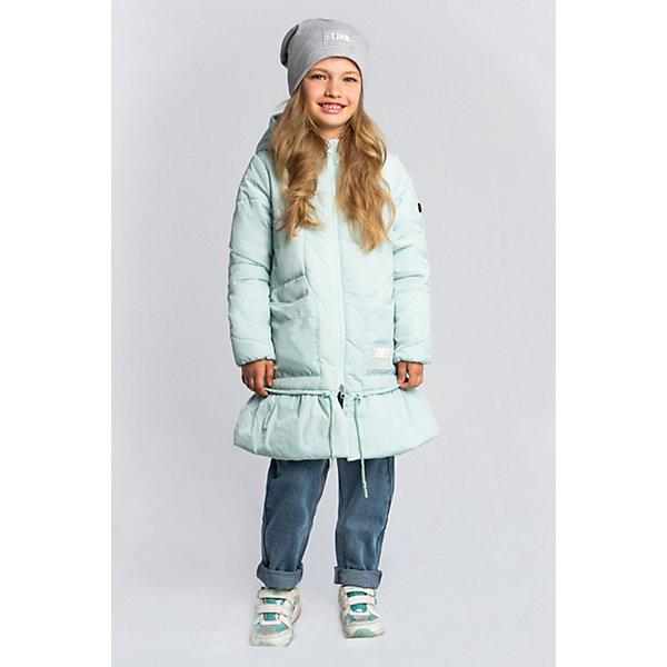 Пальто BOOM by Orby для девочкиВерхняя одежда<br>Характеристики товара:<br><br>• цвет: мятный;<br>• ткань верха: нейлон, жатка (100% ПЭ);<br>• подкладка: поликоттон; ПЭ пуходержащий (90% хлопок, 10% ПЭ);<br>• утеплитель: Flexy Fiber 150 г/м2;<br>• сезон: демисезон;<br>• температурный режим: от -5 до +10°С;<br>• два кармана;<br>• утяжка по низу на шнурке;<br>• особенности: ассиметричная стежка, нашивка на кукаве;<br>• тип: пальто, стеганое;<br>• капюшон: несъемный, утяжка на шнурке;<br>• страна бренда: Россия.<br><br>Удлиненное пальто BOOM by Orby для девочки выполнено в актуалных цветах сезона, и отлично подойдет для повседневной носки в прохладное межсезонье. Гипоаллергенный утеплитель защитит от ветра и холода. Нежное, женственное и тёплое пальто для девочки обязательно понравится вам и вашей девочке. Модель в оригинальном дизайне, с необычной асимметричной стёжкой, дополнена утяжкой на шнурке. <br><br>Удлиненное пальто BOOM by Orby (Бум бай Орби) для мальчика можно купить в нашем интернет-магазине.<br>Ширина мм: 356; Глубина мм: 10; Высота мм: 245; Вес г: 519; Цвет: зеленый; Возраст от месяцев: 144; Возраст до месяцев: 156; Пол: Женский; Возраст: Детский; Размер: 158,152,146,140,134,128,122,116,110,104,98; SKU: 7709198;