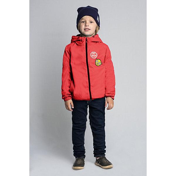 Купить Куртка BOOM by Orby для мальчика, Россия, красный, 86, 158, 152, 146, 140, 134, 128, 122, 116, 110, 104, 98, 92, Мужской
