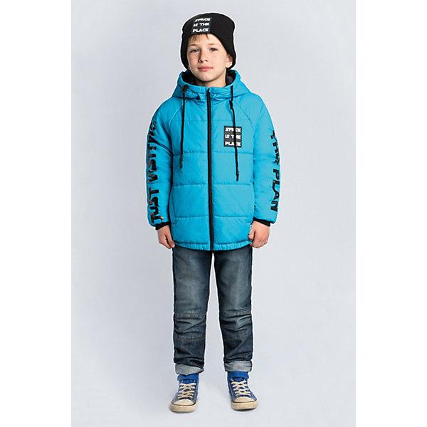 Купить Куртка BOOM by Orby для мальчика, Россия, голубой, 146, 152, 140, 134, 128, 122, 116, 170, 164, 158, Мужской