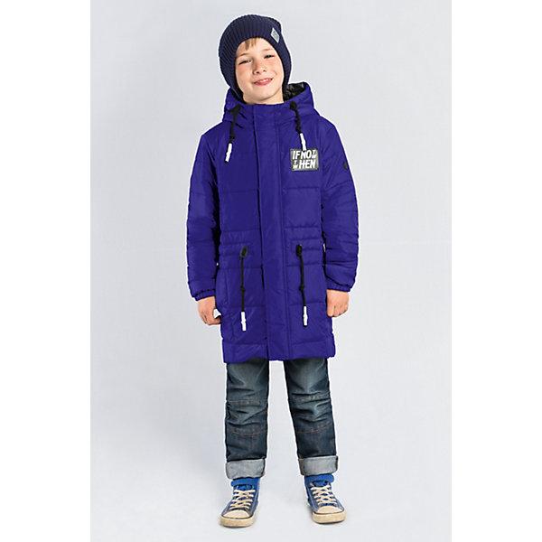 Пальто BOOM by Orby для мальчикаВерхняя одежда<br>Характеристики товара:<br><br>• цвет: синий;<br>• ткань верха: таффета матовая (100% ПЭ);<br>• подкладка: поликоттон; ПЭ пуходержащий (90% хлопок, 10% ПЭ);<br>• утеплитель: Flexy Fiber 150 г/м2;<br>• сезон: демисезон;<br>• температурный режим: от -5 до +10°С;<br>• регулируемая талия на шнурке;<br>• два кармана;<br>• высокая горловина; <br>• особенности:нашивка на груди;<br>• тип куртки: пальто;<br>• капюшон: с утяжкой на шнурке, несъемный;<br>• страна бренда: Россия.<br><br>Удлиненное пальто BOOM by Orby для мальчика выполнена из практичной и износостойкой ткани, с оригинальными дизайнерскими элементами, в актуалных цвета сезона. Гипоаллергенный утеплитель защитит в прохладную погоду. Модель обязательно станет любимицей детей и родителей, ведь в неё сочетаются стиль, доступность и практичность. Идеально сочетается с вещами в стиле casual и спорт: джинсы или брюки чинос, полуботинки и шапки-бини. Подойдет как для прогулок, так и для школы.<br><br>Пальто BOOM by Orby (Бум бай Орби) для мальчика можно купить в нашем интернет-магазине.<br>Ширина мм: 356; Глубина мм: 10; Высота мм: 245; Вес г: 519; Цвет: синий; Возраст от месяцев: 84; Возраст до месяцев: 96; Пол: Мужской; Возраст: Детский; Размер: 134,122,116,110,104,98,128; SKU: 7709493;