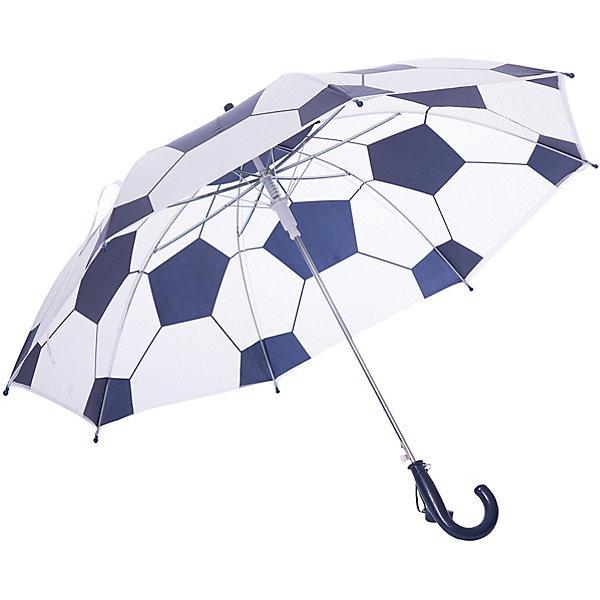 Зонт PlayToday для мальчикаЗонты<br>Характеристики товара:<br><br>• цвет: белый/синий;<br>• каркас: 100% сталь;<br>• купол: 100% поливинилхлорид;<br>• ручка: 100% АБС пластик;<br>• ветроустойчивый каркас;<br>• конца спиц с безопасными наконечниками;<br>• безопасно открывается и закрывается;<br>• коллекция: Футбольный клуб;<br>• страна бренда: Германия.<br><br>Зонт оснащен специальной безопасной системой открывания и закрывания. Материал каркаса ветроустойчивый. Концы спиц снабжены пластмассовыми наконечниками для защиты от травм. Ручка из прочного пластика. Ткань купола ПВХ.<br><br>Зонт PlayToday (ПлэйТудэй) можно купить в нашем интернет-магазине.<br>Ширина мм: 170; Глубина мм: 157; Высота мм: 67; Вес г: 117; Цвет: белый; Возраст от месяцев: 60; Возраст до месяцев: 144; Пол: Мужской; Возраст: Детский; Размер: one size; SKU: 7713798;