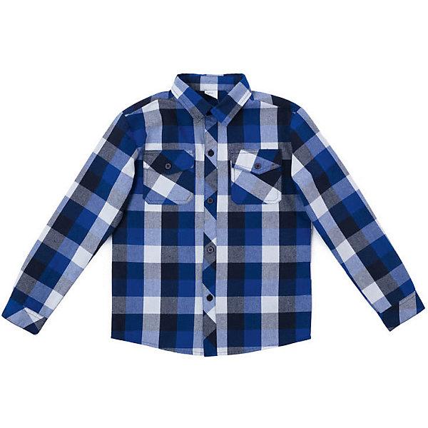 Футболка сдлинным рукавом PlayToday для мальчикаБлузки и рубашки<br>Сорочка PlayToday для мальчика<br>Сорочка выполнена из натурального хлопка.  Рукава оформлены манжетами. Сорочка с двумя накладными карманами.<br>Состав:<br>100% хлопок<br>Ширина мм: 174; Глубина мм: 10; Высота мм: 169; Вес г: 157; Цвет: синий; Возраст от месяцев: 36; Возраст до месяцев: 48; Пол: Мужской; Возраст: Детский; Размер: 104,146/152,134/140,122,116,110,128; SKU: 7713800;