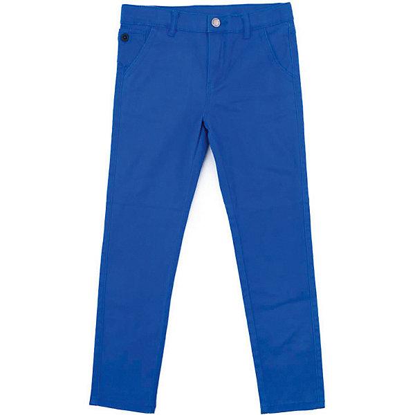 Брюки PlayToday для мальчикаБрюки<br>Брюки PlayToday для мальчика<br>Брюки - джинсы выполнены из натуральной хлопковой ткани с добавлением эластана. Классическая модель, со шлевками. При необходимости можно использовать ремень. Изнутри предусмотрена регулировка по талии. В качестве декора использованы потертости.<br>Состав:<br>98% хлопок, 2% эластан<br>Ширина мм: 215; Глубина мм: 88; Высота мм: 191; Вес г: 336; Цвет: синий; Возраст от месяцев: 132; Возраст до месяцев: 144; Пол: Мужской; Возраст: Детский; Размер: 146/152,134/140,122,116,110,128,104; SKU: 7713808;