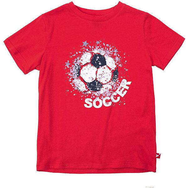 Купить Футболка PlayToday для мальчика, Китай, красный, 128, 104, 146/152, 134/140, 122, 116, 110, Мужской