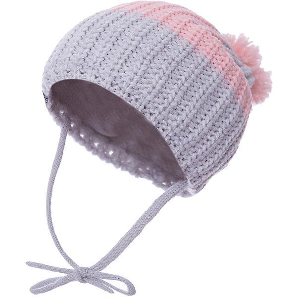 Шапка PlayToday для девочкиГоловные уборы<br>Характеристики товара:<br><br>• цвет: серый/розовый;<br>• состав ткани: 100% акрил;<br>• подкладка: 100% полиэстер, флис;<br>• без дополнительного утепления;<br>• сезон: демисезон;<br>• температурный режим: от -7С до +5С;<br>• шапка на завязках;<br>• вязаная шапка;<br>• шапка с помпоном;<br>• коллекция: Рок-принцесса;<br>• страна бренда: Германия.<br><br>Шапка крупной вязки, на завязках. Подкладка из флиса на области ушей, лба и затылка. Шапка декорирована помпоном.<br><br>Шапку PlayToday (ПлэйТудэй) можно купить в нашем интернет-магазине.<br>Ширина мм: 89; Глубина мм: 117; Высота мм: 44; Вес г: 155; Цвет: розовый; Возраст от месяцев: 84; Возраст до месяцев: 96; Пол: Женский; Возраст: Детский; Размер: 54,52,56; SKU: 7714167;