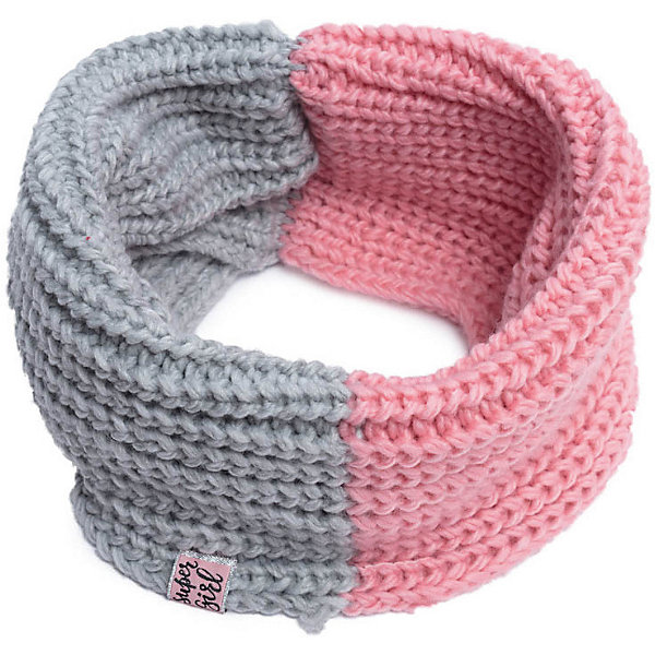 Шарф PlayToday для девочкиВерхняя одежда<br>Характеристики товара:<br><br>• цвет: серый/розовый;<br>• состав ткани: 100% акрил;<br>• сезон: демисезон;<br>• шарф-снуд;<br>• двухцветный;<br>• коллекция: Рок-принцесса;<br>• страна бренда: Германия.<br><br>Шарф - снуд крупной вязки. Модель двуцветная.<br><br>Шарф PlayToday (ПлэйТудэй) можно купить в нашем интернет-магазине.<br>Ширина мм: 88; Глубина мм: 155; Высота мм: 26; Вес г: 106; Цвет: розовый; Возраст от месяцев: 60; Возраст до месяцев: 144; Пол: Женский; Возраст: Детский; Размер: one size; SKU: 7714180;
