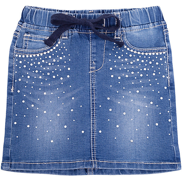 Юбка джинсовая PlayToday для девочкиЮбки<br>Юбка PlayToday для девочки<br>Классическая прямая джинсовая юбка для девочки из смесовой ткани с высоким содержанием натурального хлопка. Модель на шлевках, при необходимости можно использовать ремень. Юбка дополнена накладными и встрочными карманами.<br>Состав:<br>56% хлопок, 43% полиэстер, 1% эластан<br>Ширина мм: 207; Глубина мм: 10; Высота мм: 189; Вес г: 183; Цвет: синий; Возраст от месяцев: 132; Возраст до месяцев: 144; Пол: Женский; Возраст: Детский; Размер: 146/152,104,122,134/140,110,116,128; SKU: 7714438;