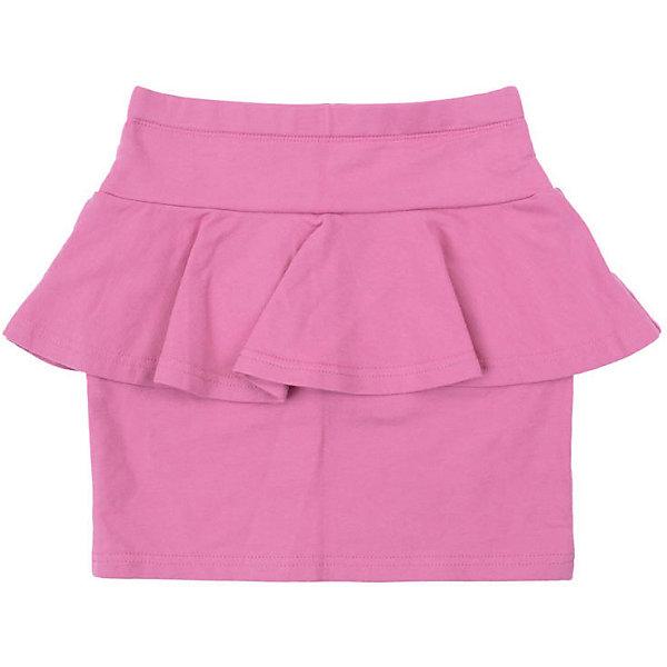 Юбка PlayToday для девочкиЮбки<br>Юбка PlayToday для девочки<br>Прямая юбка с баской из ткани с высоким содержанием натурального хлопка. Модель на широкой резинке не сдавливающей живот ребенка.<br>Состав:<br>80% хлопок, 20% полиэстер<br>Ширина мм: 207; Глубина мм: 10; Высота мм: 189; Вес г: 183; Цвет: розовый; Возраст от месяцев: 36; Возраст до месяцев: 48; Пол: Женский; Возраст: Детский; Размер: 104,146/152,122,134/140,110,116,128; SKU: 7714454;
