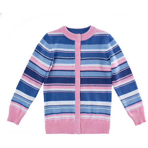 Кардиган PlayToday для девочкиСвитера и кардиганы<br>Кардиган PlayToday для девочки<br>Кардиган выполнен из ткани с высоким содержанием натурального хлопка. Горловина, манжеты и низ изделия на мягких трикотажных резинках. Технология производства - yarn dyed - в процессе производства использованы разного цвета нити. При рекомендуемом уходе изделие не линяет и надолго остается в первоначальном виде.<br>Состав:<br>60% хлопок, 40% акрил<br>Ширина мм: 190; Глубина мм: 74; Высота мм: 229; Вес г: 236; Цвет: голубой; Возраст от месяцев: 36; Возраст до месяцев: 48; Пол: Женский; Возраст: Детский; Размер: 104,146/152,134/140,122,116,110,128; SKU: 7714589;