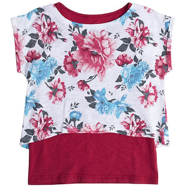 Комплект PlayToday для девочкиКомплекты<br>Комплект PlayToday для девочки<br>2 в одном. Комплект выполнен из натурального хлопка. Укороченная футболка из набивной ткани и классическая майка. Рукава футболки оформлены подворотами.<br>Состав:<br>95% хлопок, 5% эластан<br>Ширина мм: 215; Глубина мм: 88; Высота мм: 191; Вес г: 336; Цвет: белый; Возраст от месяцев: 36; Возраст до месяцев: 48; Пол: Женский; Возраст: Детский; Размер: 104,146/152,134/140,122,128,116,110; SKU: 7715001;