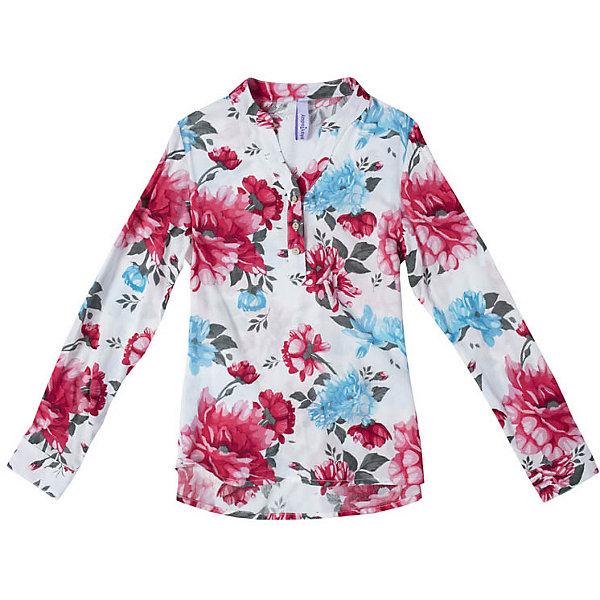 Блузка PlayToday для девочкиБлузки и рубашки<br>Блузка PlayToday для девочки<br>Блузка с длинным рукавом из вискозы. За счет высокой гигроскопичности и теплоизоляции в этой блузке ребенку будет комфортно и в жару, и в прохладную погоду. Модель с воротником - стойкой и заниженной спинкой. Блузка дополнена поясом.<br>Состав:<br>100% вискоза<br>Ширина мм: 186; Глубина мм: 87; Высота мм: 198; Вес г: 197; Цвет: белый; Возраст от месяцев: 84; Возраст до месяцев: 96; Пол: Женский; Возраст: Детский; Размер: 128,146/152,134/140,122,116,110,104; SKU: 7715017;