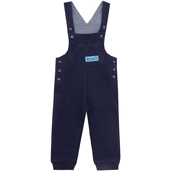 Полукомбинезон джинсовый PlayToday для мальчика