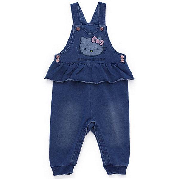 Полукомбинезон джинсовый PlayToday для девочки