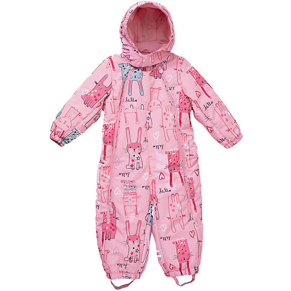 Купить Комбинезон PlayToday для девочки, Китай, розовый, 98, 80, 74, 92, 86, Женский