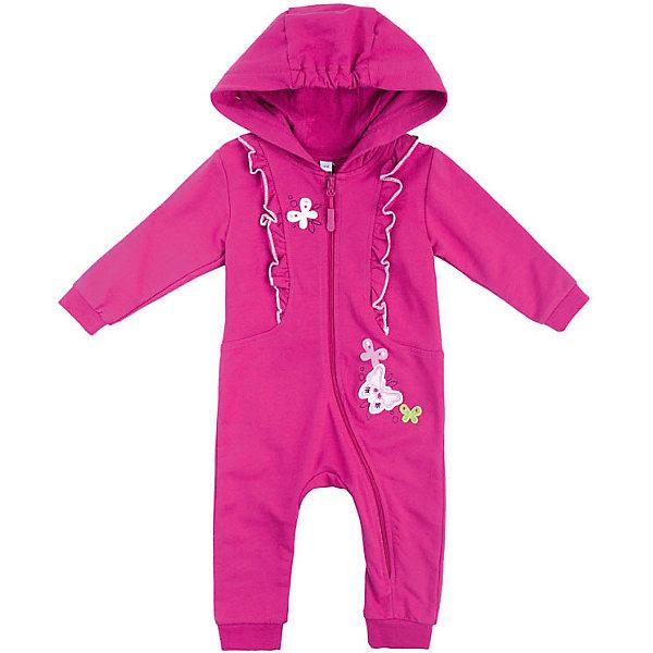 Купить Комбинезон PlayToday для девочки, Китай, розовый, 56, 74, 68, 62, Женский