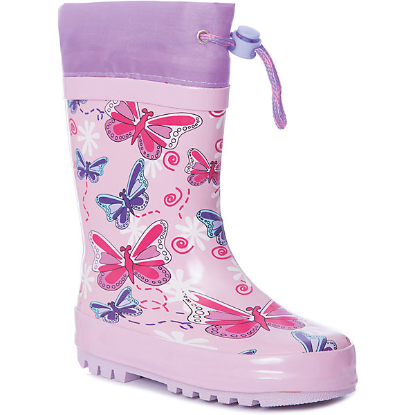 Купить Резиновые сапоги Mursu для девочки, Китай, розовый, 23, 28, 27, 26, 25, 24, Женский