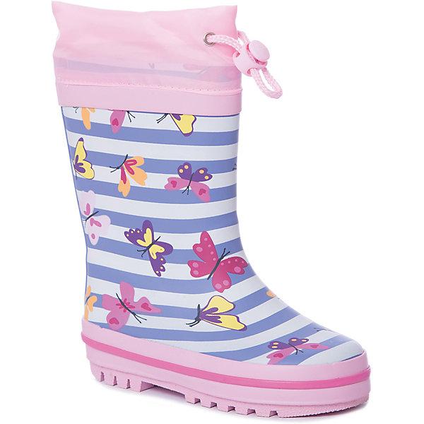Купить Резиновые сапоги Mursu для девочки, Китай, pink/blau, 23, 28, 27, 26, 25, 24, Женский